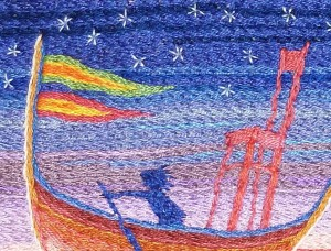 4 Rowing on Rainbow 2 detalj